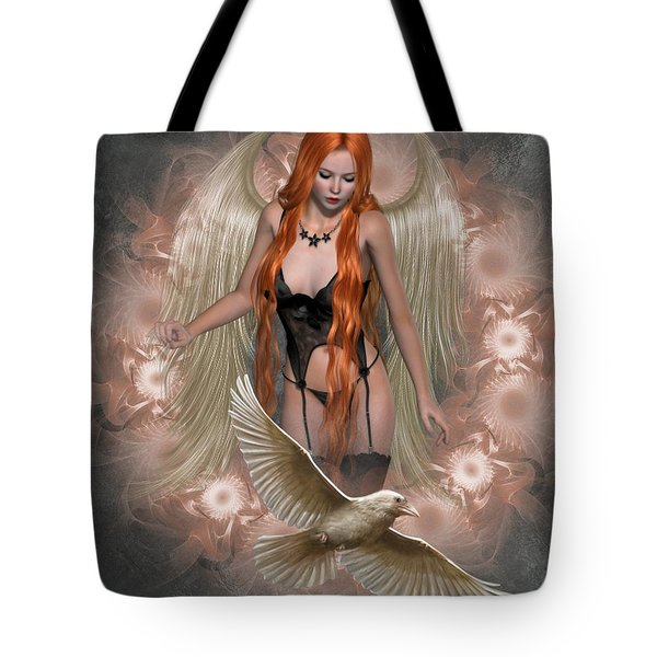 Angel Of The Ravens Tote Bag