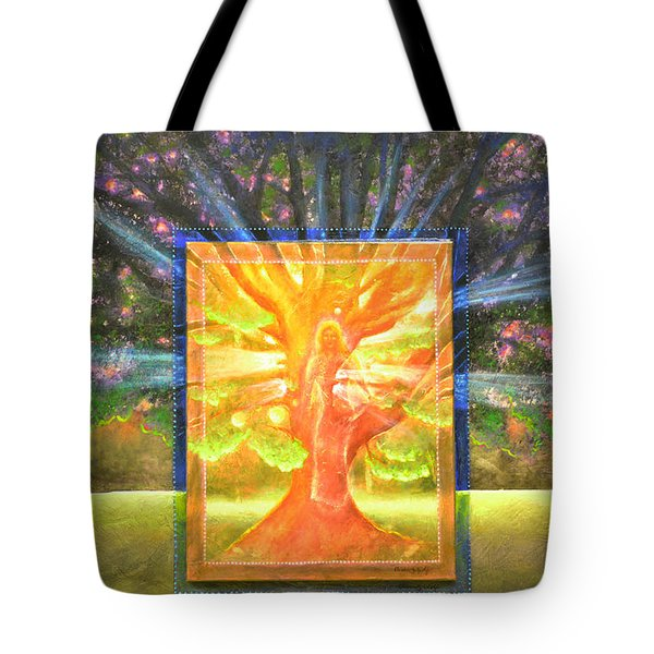 Angel Of The Trees Tote Bag