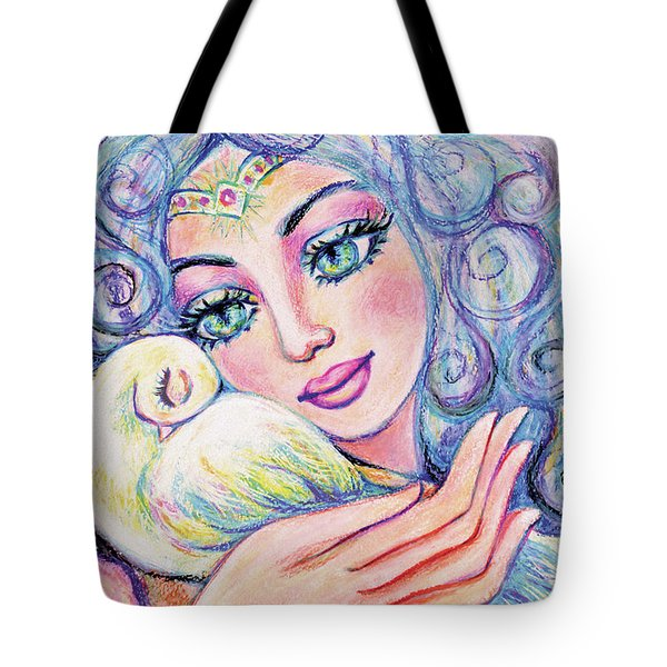 Angel Of Tranquility Tote Bag