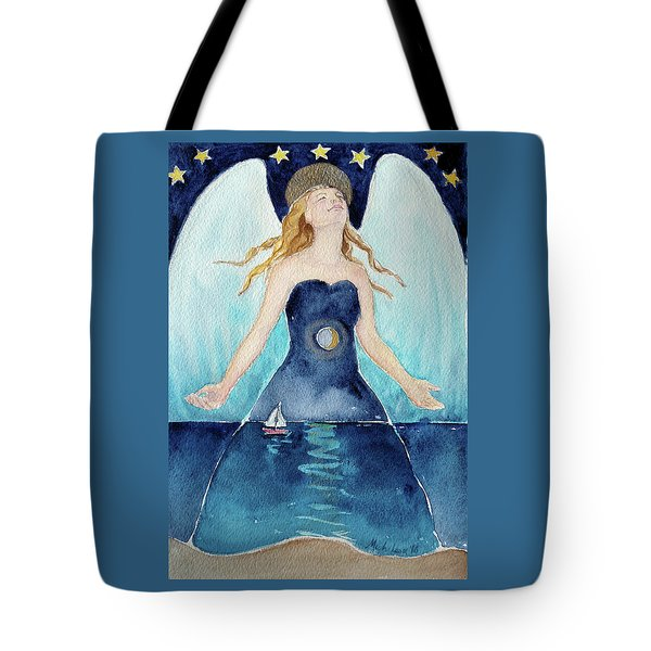 Angel Of Transcendence Tote Bag