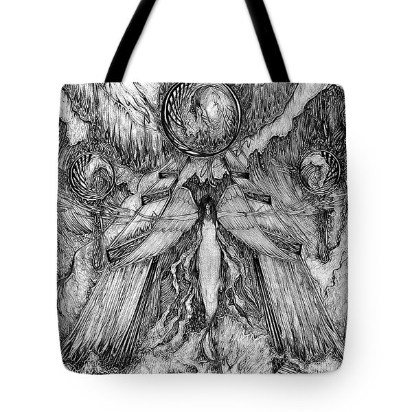 Angel Of Water And Fire Tote Bag