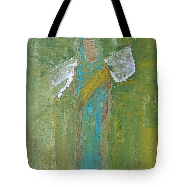Angel Praise And Worship Tote Bag