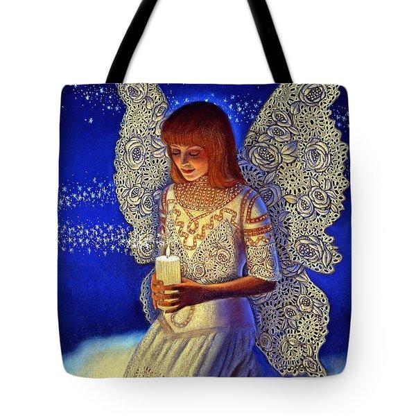 Angel Prayer Tote Bag