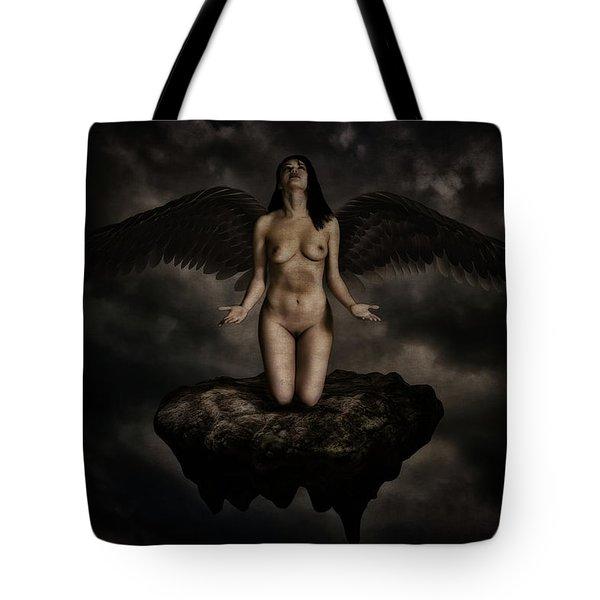 Angel Tote Bag by Ramon Martinez