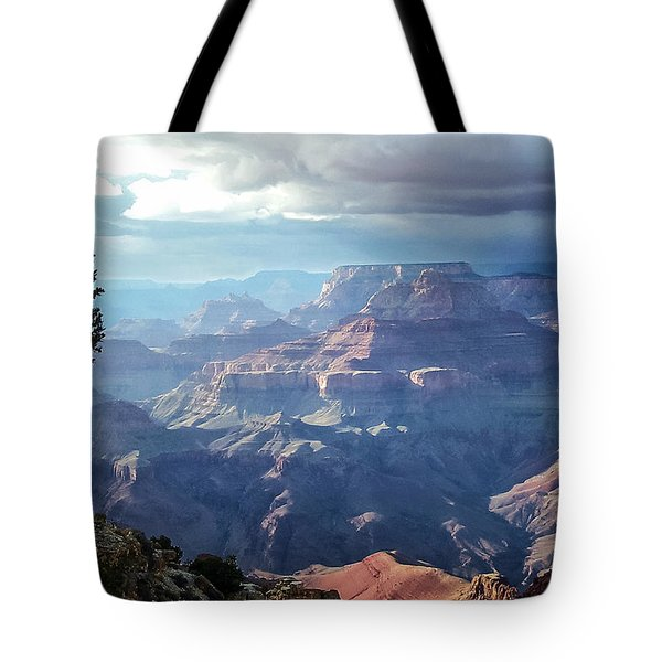 Angel S Gate And Wotan S Throne Grand Canyon National Park Tote Bag