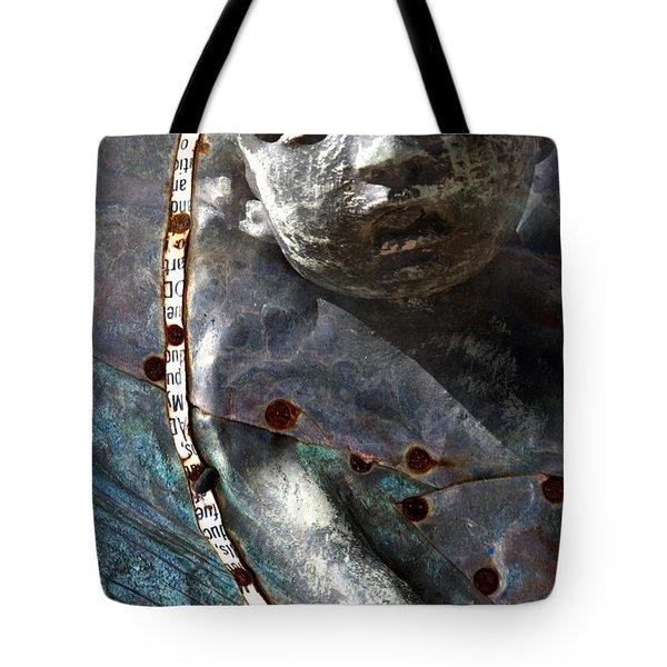 Angel Set Me Free Tote Bag