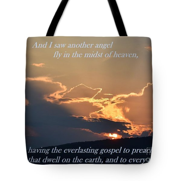 Angel Sky Tote Bag