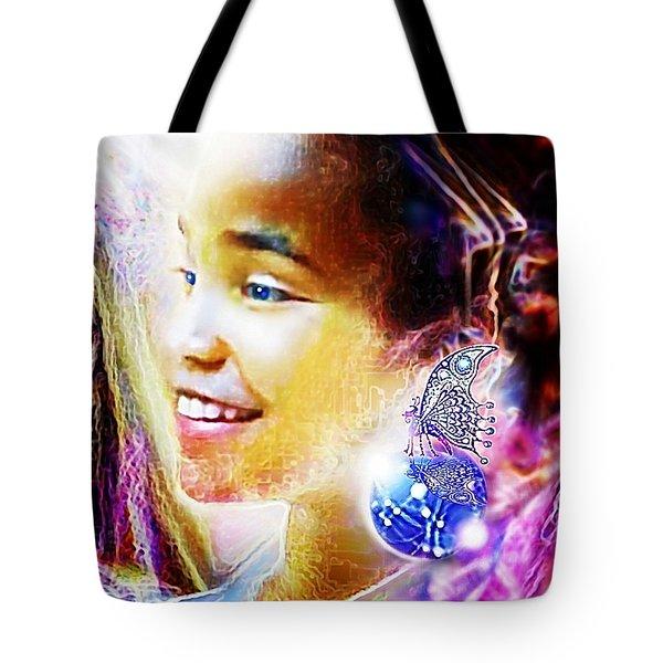 Angel Smile Tote Bag