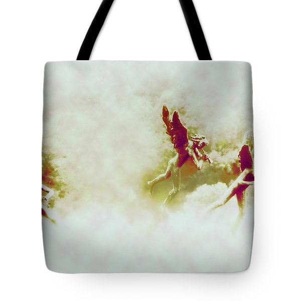 Angel Song Tote Bag by Bill Cannon