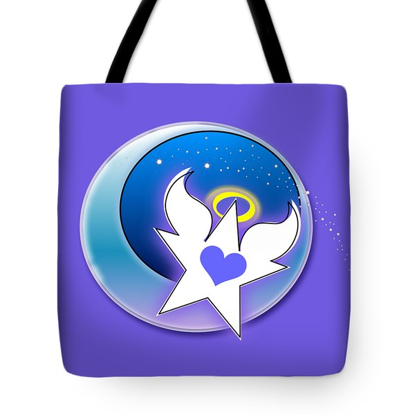 Angel Star Icon Tote Bag