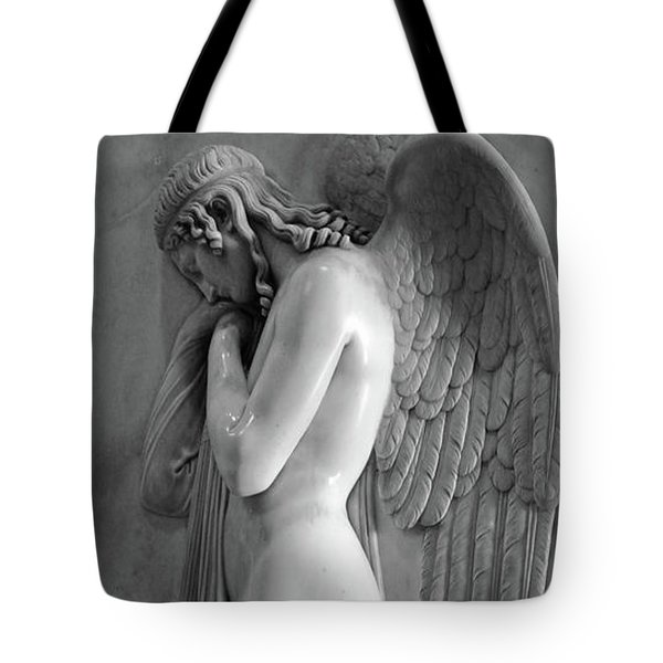 Angel Statue In St.peters Basilica Tote Bag