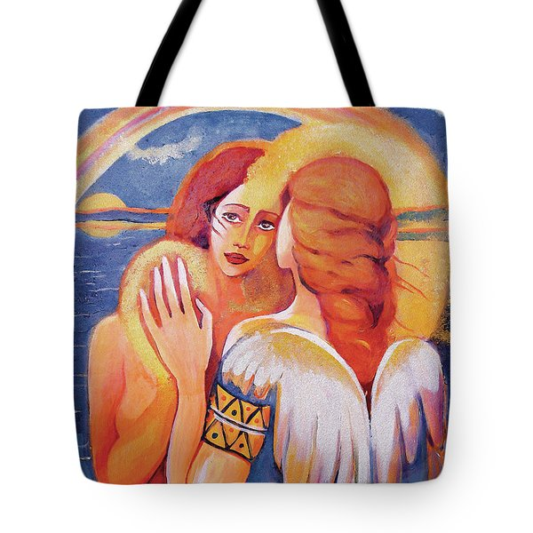 Angel Touch Tote Bag