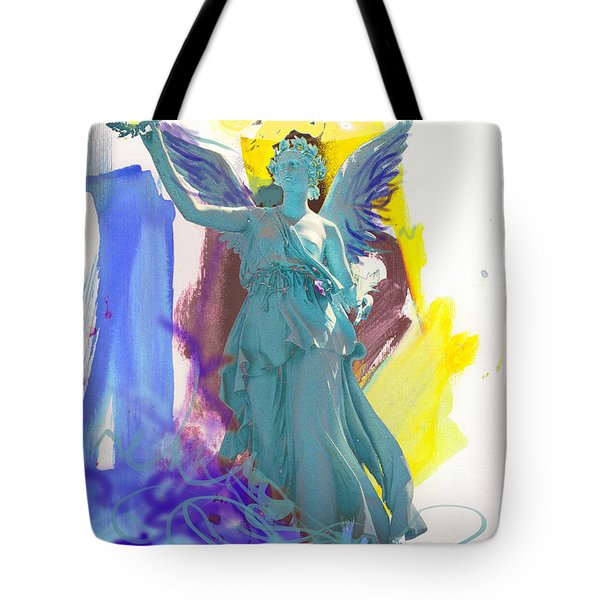 Angel, Victory Is Now Tote Bag
