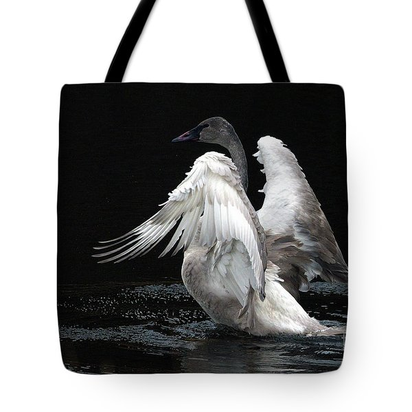 Angel Wings 2 Tote Bag by Sharon Talson