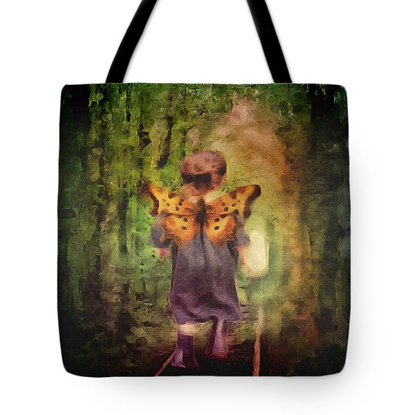 Angel Wings Tote Bag