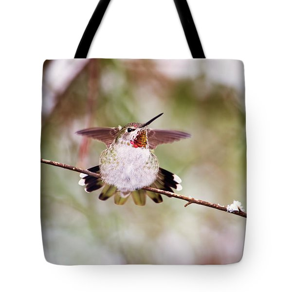 Angel Wings Tote Bag by Peggy Collins