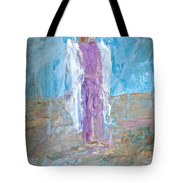 Angel With Confidence Tote Bag