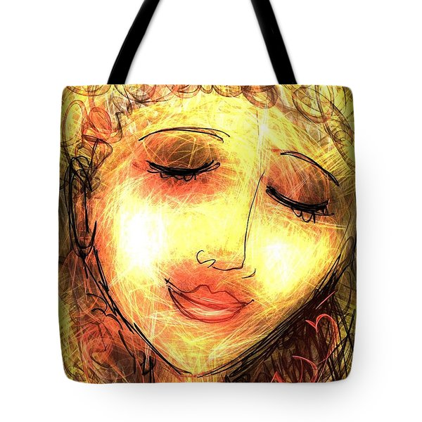 Angela Tote Bag by Elaine Lanoue