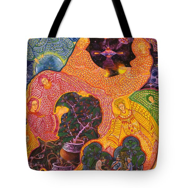 Angeles Avatares Tote Bag