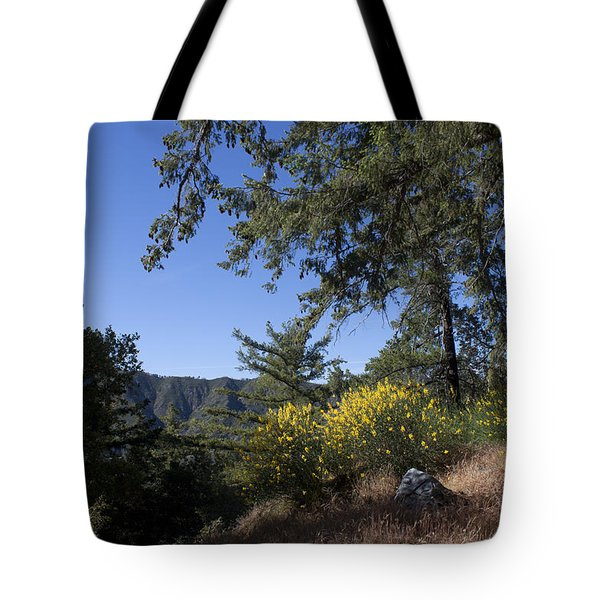 Angeles National Forest View Tote Bag