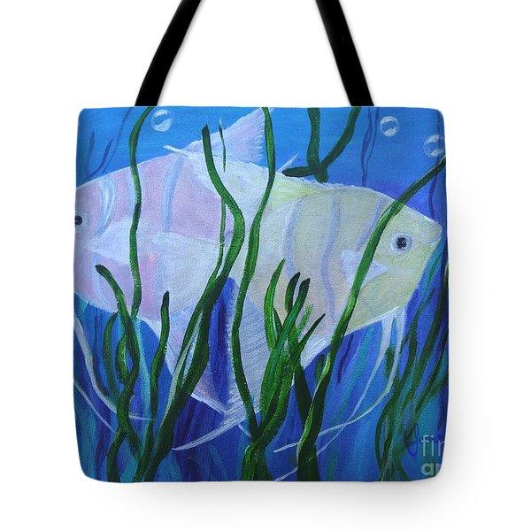 Angelfish Duo Tote Bag