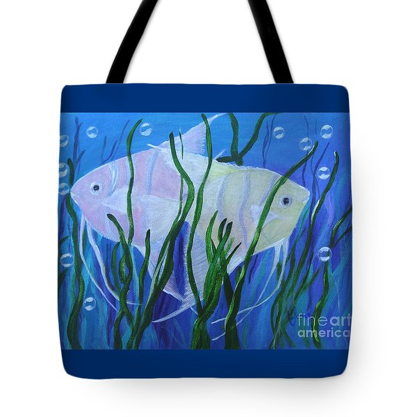Angelfish Duo Tote Bag