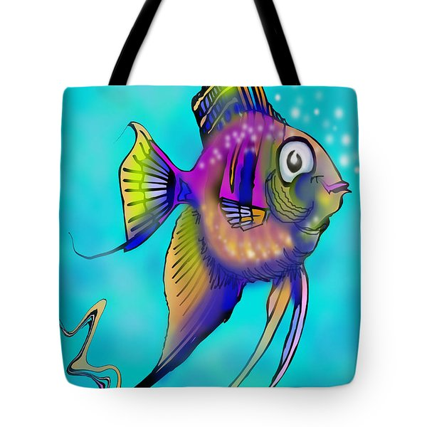 Angelfish Tote Bag by Kevin Middleton