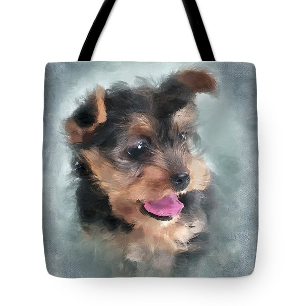 Angelic Tote Bag by Betty LaRue