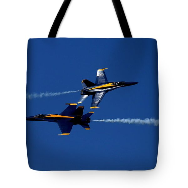 Tote Bag featuring the photograph Angelic Convergence by John King