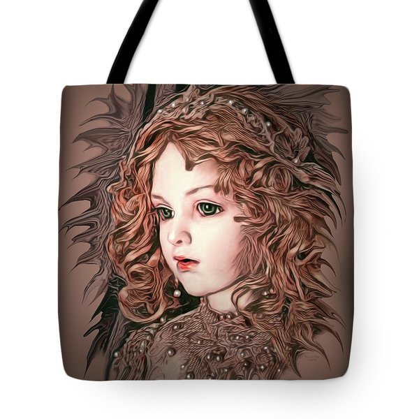 Angelic Doll Tote Bag