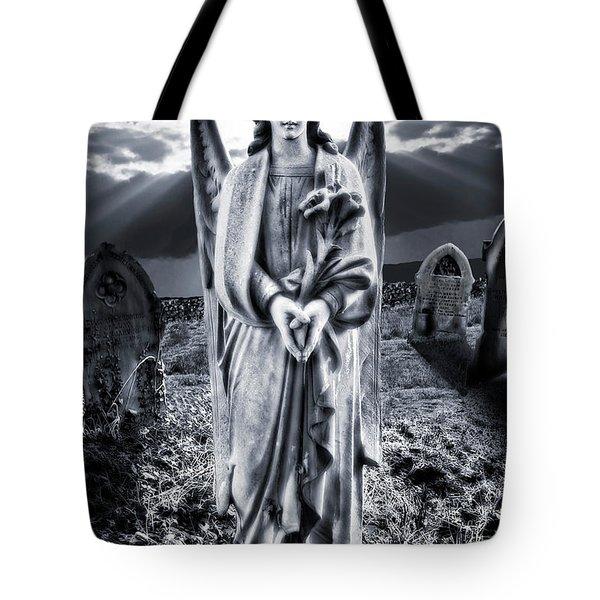 Angelic Light Tote Bag by Meirion Matthias