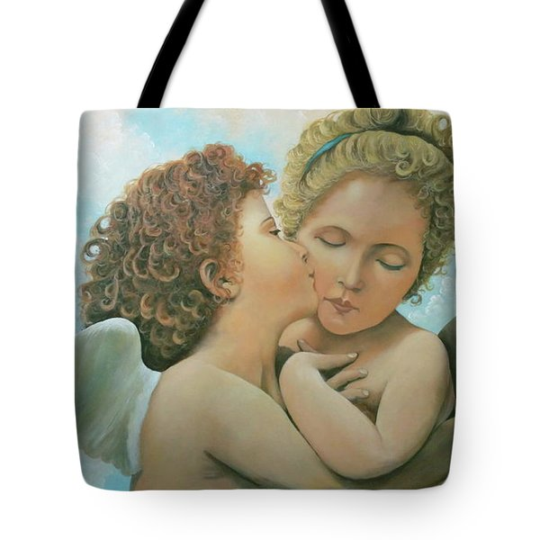 Bouguereau Angels- My Adaptation Tote Bag