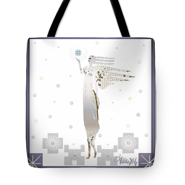 Angelic Messenger Tote Bag