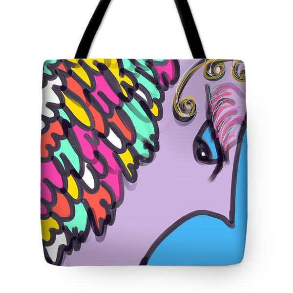 Angelic Observer Tote Bag