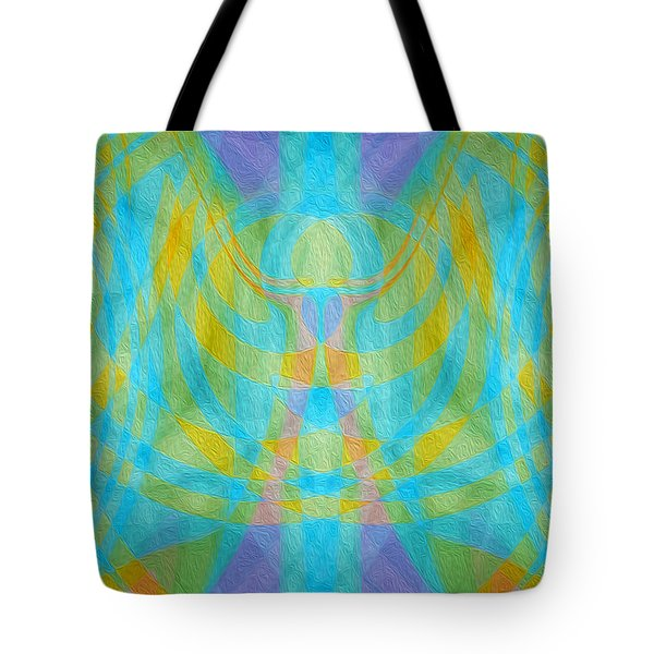 Angelic Presence Tote Bag
