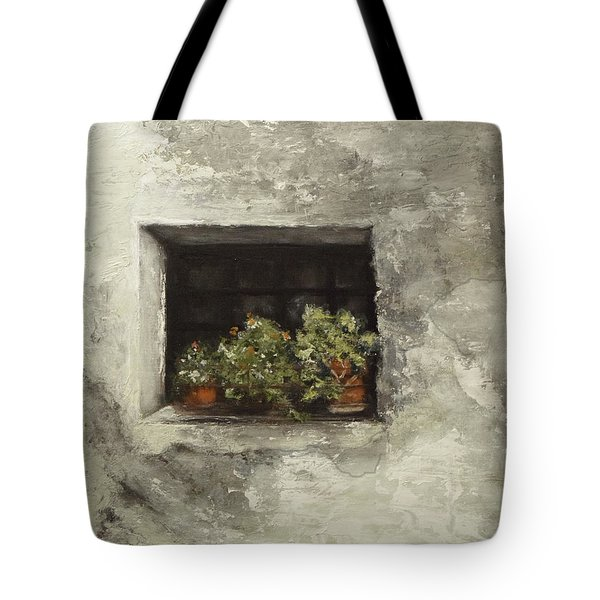 Angelika's Italian Window Tote Bag
