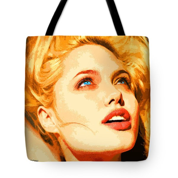 Angelina Tote Bag by John Keaton