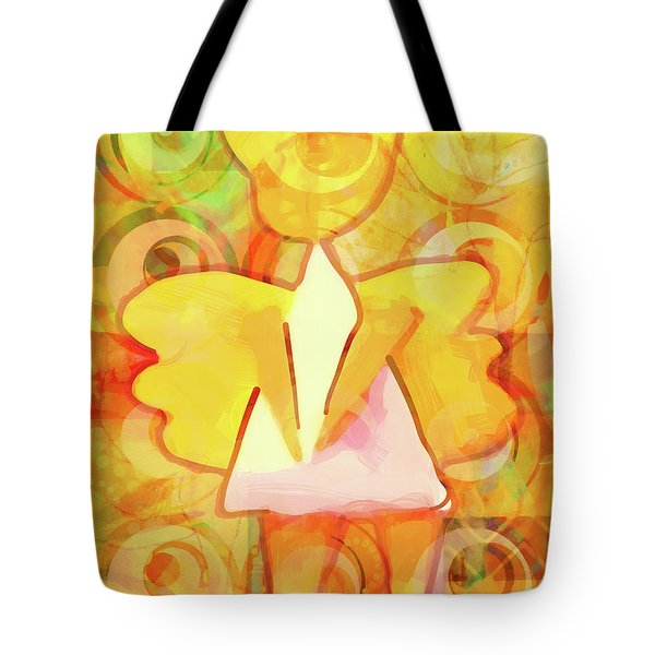 Angelino Yellow Tote Bag