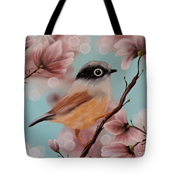 Angels Amongst Us Tote Bag by Dianna Lewis