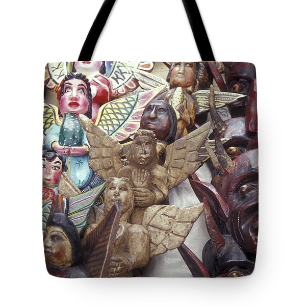 Angels And Devils Taxco Mexico Tote Bag