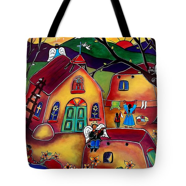 Angels Are Everywhere Tote Bag