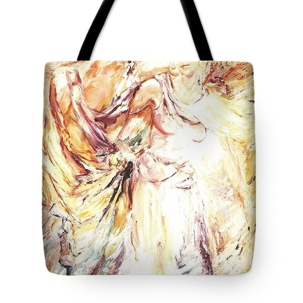 Angels Emerging Tote Bag