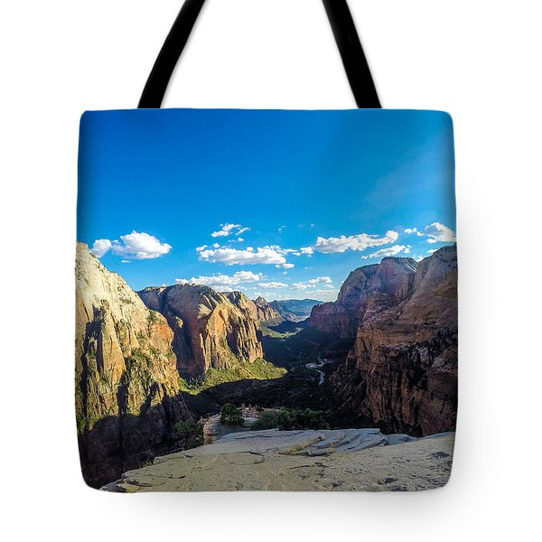 Angels Landing Tote Bag