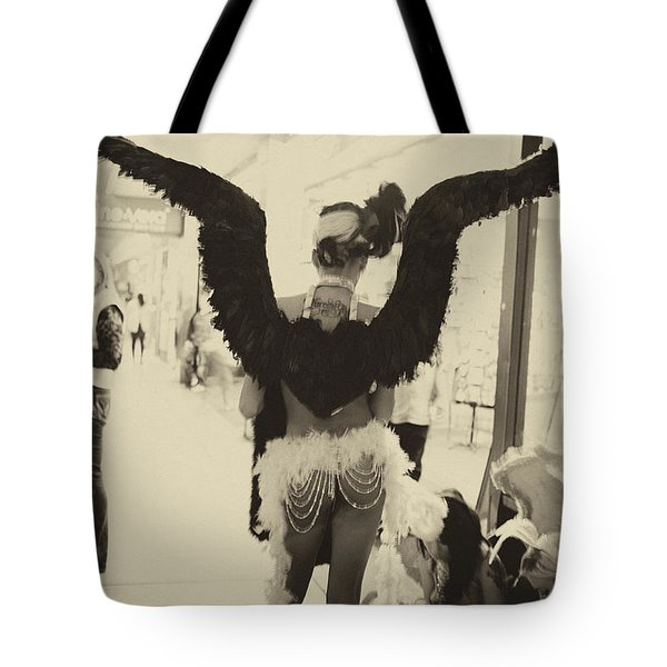 Angels Of Las Vegas Tote Bag