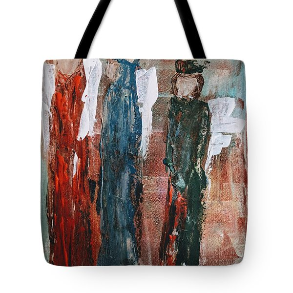 Angels Of The Night Tote Bag