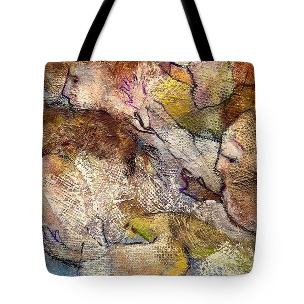 Angels Overhead Tote Bag