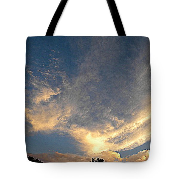 Angels Paint The Sky Tote Bag