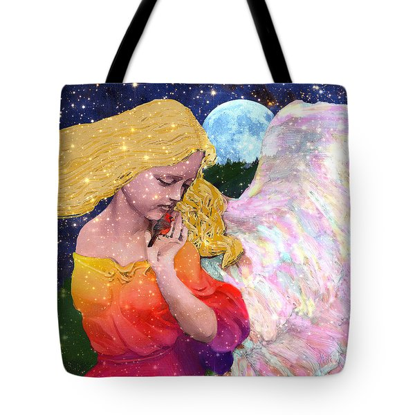 Angels Protect The Innocents Tote Bag