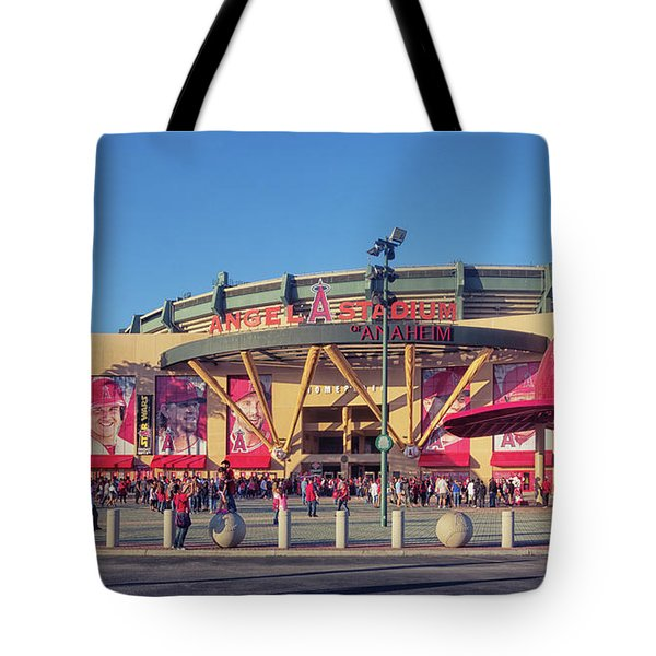 Angels Stadium Tote Bag