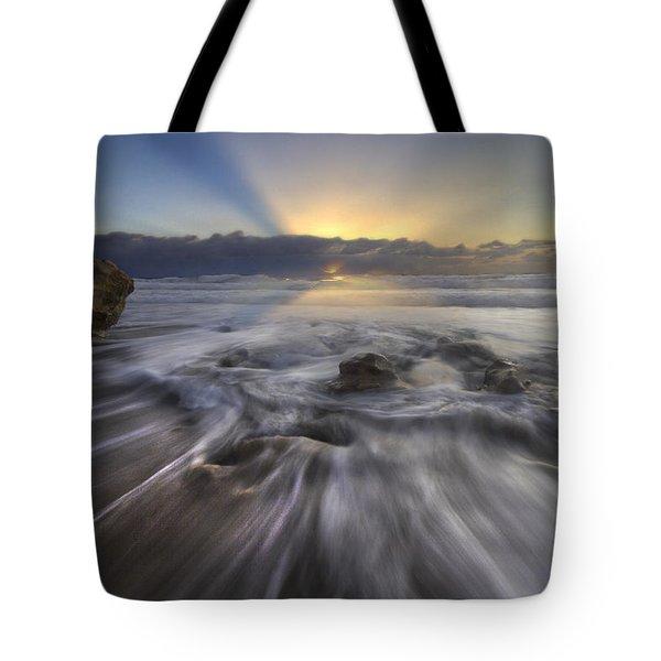 Angel's Walk Tote Bag by Debra and Dave Vanderlaan